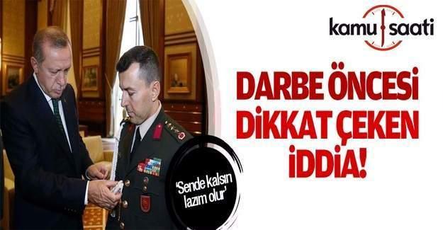 Erdoğan, yaverini çakı ile sınamış