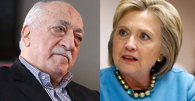 FETÖ'den Clinton'a himmet desteği! İlk resmi belge