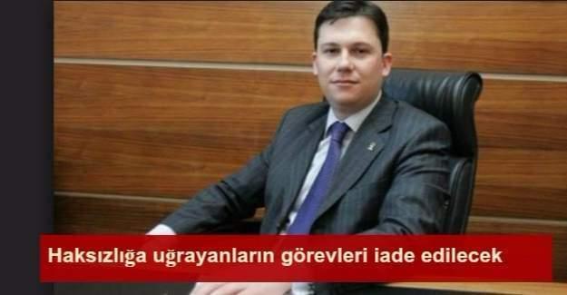 Görevden uzaklaştırmalarla ilgili AK Parti yönetiminden açıklama