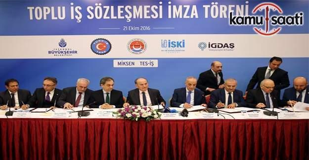 İBB'de toplu sözleşmelerin ikincisi bugün gerçekleşti