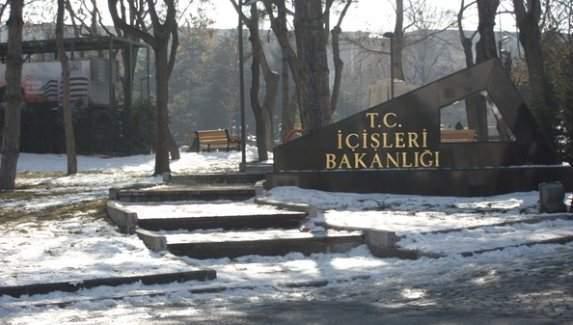 İçişleri Bakanlığında 37 personel görevden uzaklaştırıldı