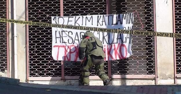 İstanbul'da bombalı pankart alarmı