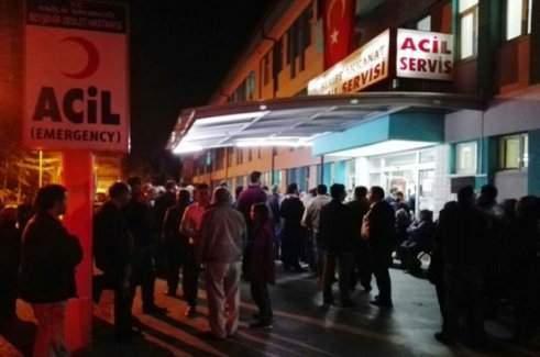Konya'da öğrenci servisi devrildi; 24 yaralı