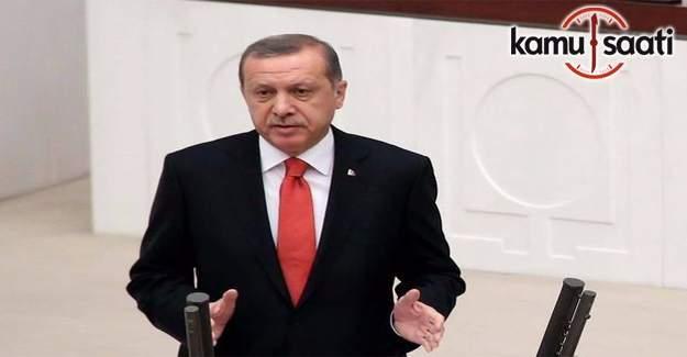 Meclis açıldı- Cumhurbaşkanı Erdoğan Meclis açılışında konuşuyor