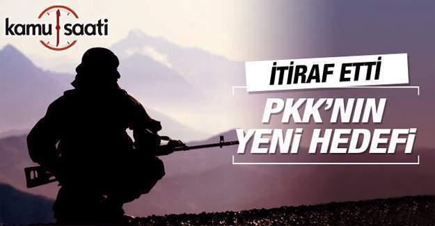 PKK'nın yeni hedefi ekonomik tesisler