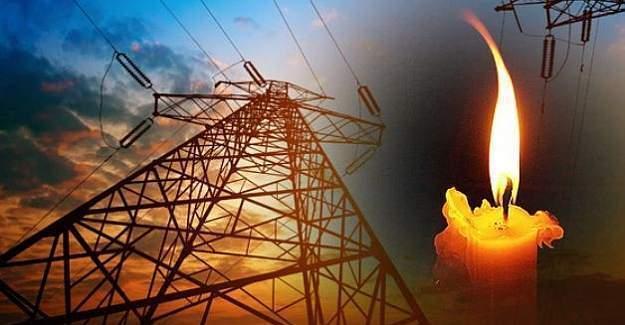 26 Kasım Cumartesi 6 ilde elektrik kesintisi