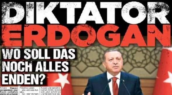 Bild Gazetesi'nin manşetine, Aslan Neferler Tim'den cevap