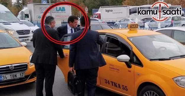 Bu da 'makam taksi'