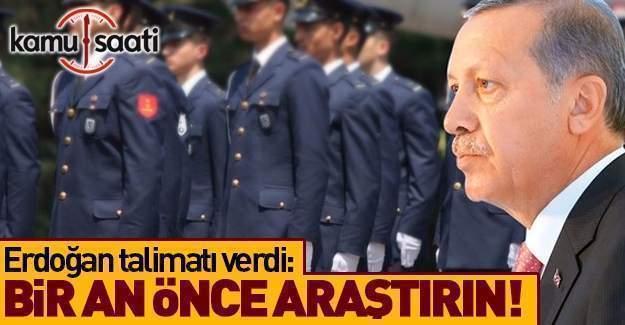 Erdoğan'dan tutuklu askeri öğrenciler için talimat