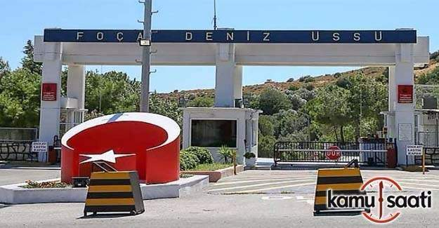 Foça Deniz Üssü görevli 55 subay tutuklandı