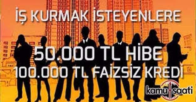 İş kurmak isteyene 30 bin lira karşılıksız destek