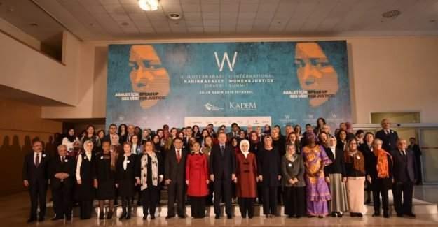 Kadın ve Adalet Zirvesi sonuç bildirgesi paylaşıldı