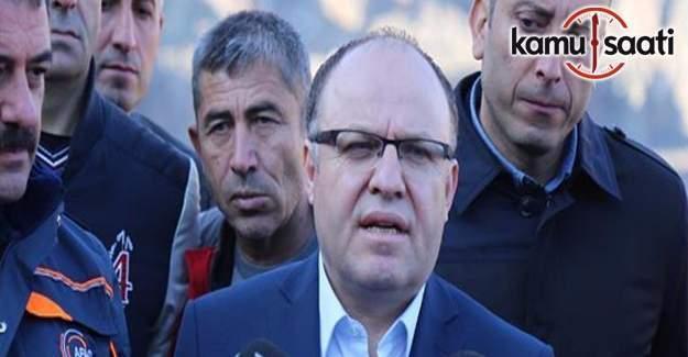 Siirt Valisiden 'göçük' açıklaması
