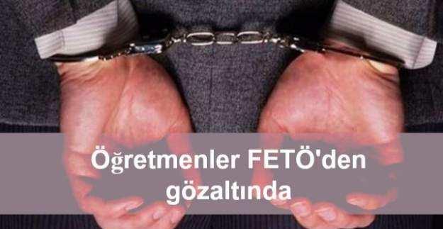 11 ilde FETÖ operasyonu: 14 öğretmen gözaltında
