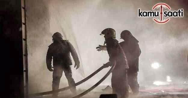 Ankara Siteler'de yangın