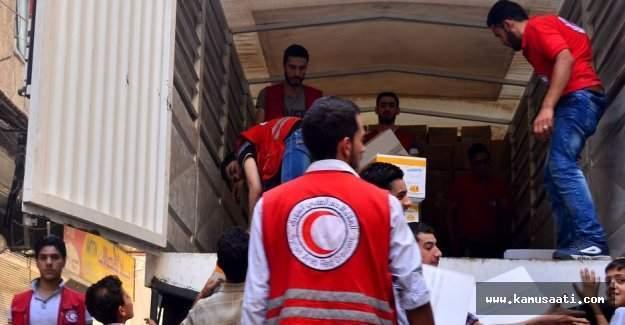 Binali Yıldırım Halep'e yardım elini uzattı