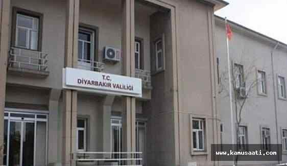 Diyarbakır Valiliği tarafından operasyon açıklaması