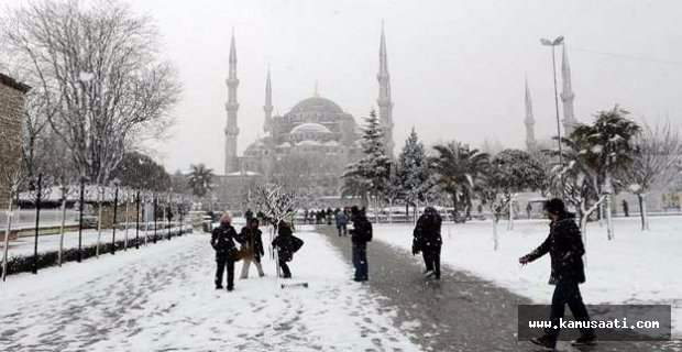 İstanbul'da okullar tatil olacak mı? 30 Aralık 2016 Valilik kar tatili açıklaması