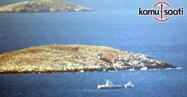 Kardak'ta Türk ve Yunan sahil güvenlik botları arasında sıcak temas
