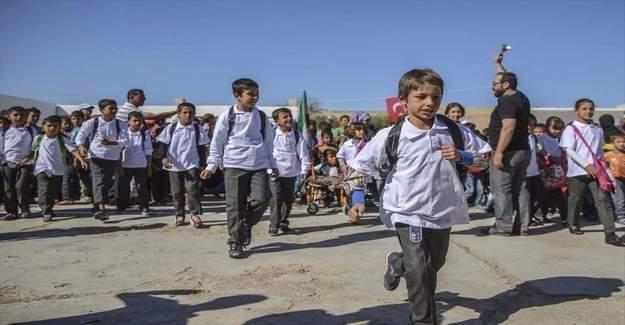 Keçiören Belediyesi'nden Cerabluslu çocuklara eğitim desteği