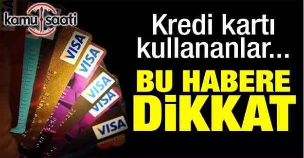 'Kredi kartlarındaki puanları kullanın' uyarısı
