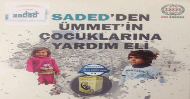 SADED'den Ümmet'in çocuklarına yardım eli