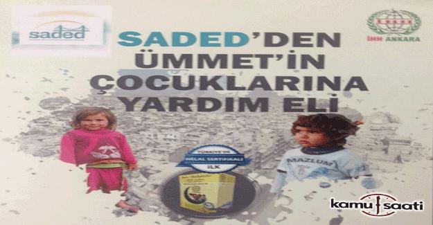SADED, Halep ve Şam'a yardım TIR'ı gönderiyor