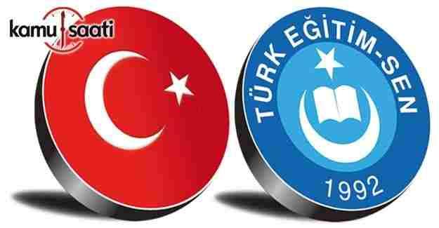 Türk Eğitim-Sen'den MEB Norm kadro yönetmelik değişikliğine dava