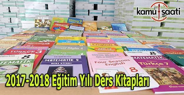 2017-2018 Ders Kitapları Listesi açıklandı