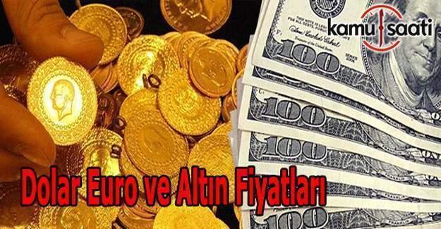 7 Ocak 2017 Dolar, Euro ve Altın Fiyatları