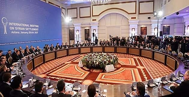 Astana'daki Suriye toplantısında Türkiye, Rusya ve İran uzlaşmaya vardı