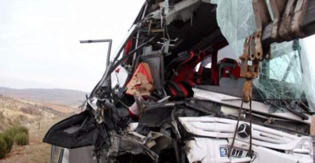 Gaziantep'te yolcu otobüsü devrildi: Yaralılar var