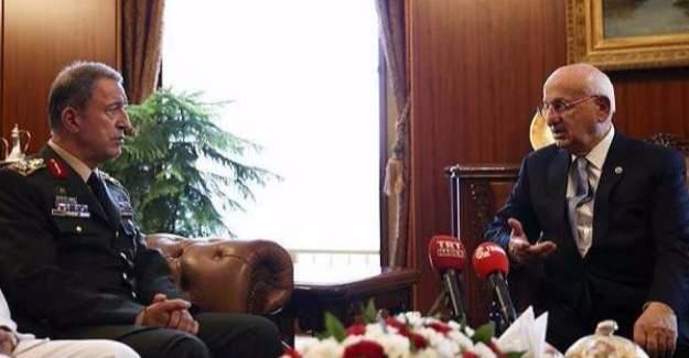 Hulusi Akar, İsmail Kahraman'ın sağlık durumunu açıkladı