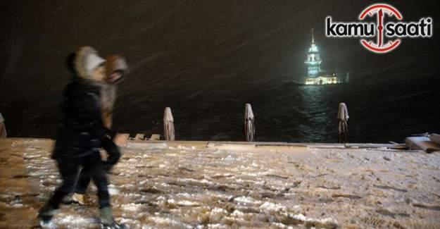 İstanbul kara teslim - Boğaz gemi trafiğine kapatıldı