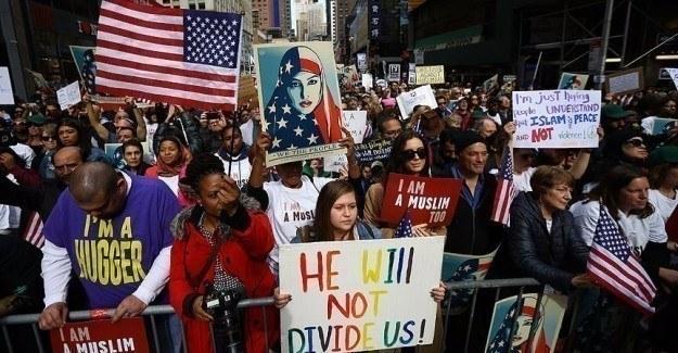 ABD'de 'Bugün bende Müslümanım' eylemi