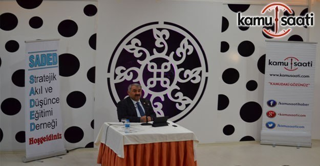 AK Parti Konya Milletvekili Halil Etyemez, SADED Konferansında Yeni Anayasa'yı anlattı