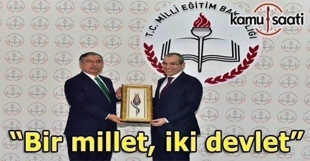 Azerbaycan Eğitim Bakanı Cabbarov, eğitim işbirliği için Ankara´da