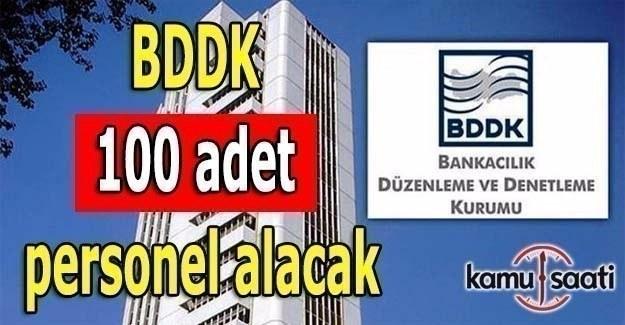 BDDK'dan 100 adet personel alım ilanı