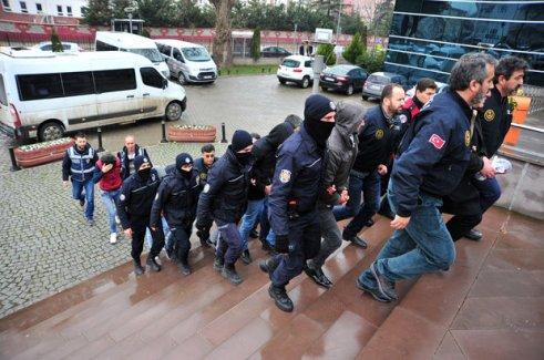 Bursa'da PKK operasyonu, 5 tutuklu