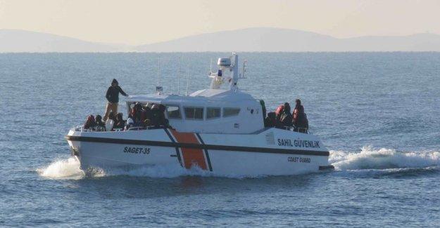 Çanakkale'de 46 göçmen yakalandı