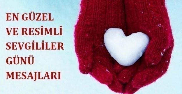 En güzel ve resimli 14 Şubat Sevgililer Günü mesajları