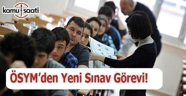Öğretmenlere Yeni Sınav Görevi - Sınav Görevi Başvurusu