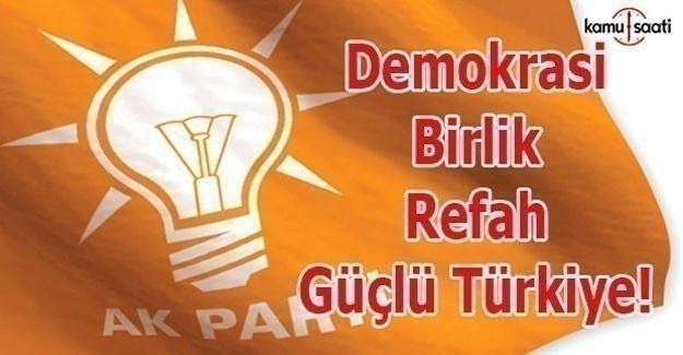 Referandum için dört slogan: Demokrasi, Refah, Birlik, Güçlü Türkiye
