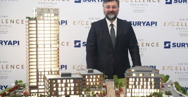 Sur Yapı Excellence Koşuyolu Satışa Çıktı!