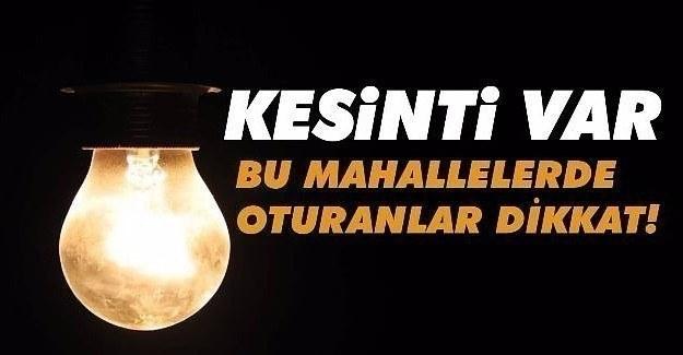 29 Mart Çarşamba İstanbul'un 11 ilçesinde elektrik kesintisi yaşanacak