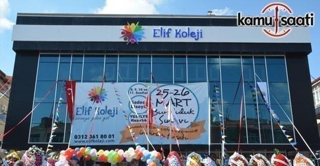 Ankara Keçiören'in yeni değeri Elif Koleji açıldı