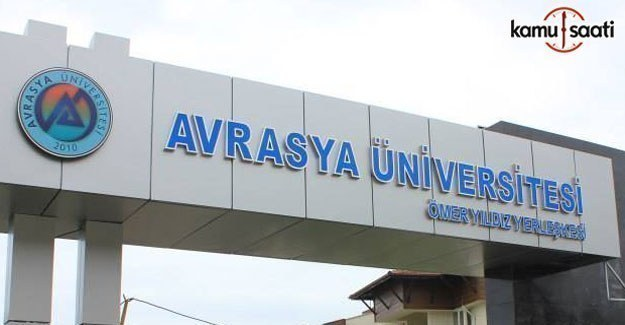 Avrasya Üniversitesi Satın Alma ve İhale Yönetmeliğinde Değişiklik Yapıldı