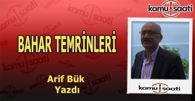 BAHAR TEMRİNLERİ