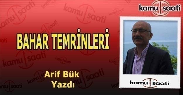 BAHAR TEMRİNLERİ