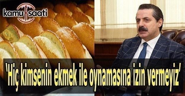 Bakan Çelik'ten 'ekmekte GDO' iddialarıyla ilgili açıklama